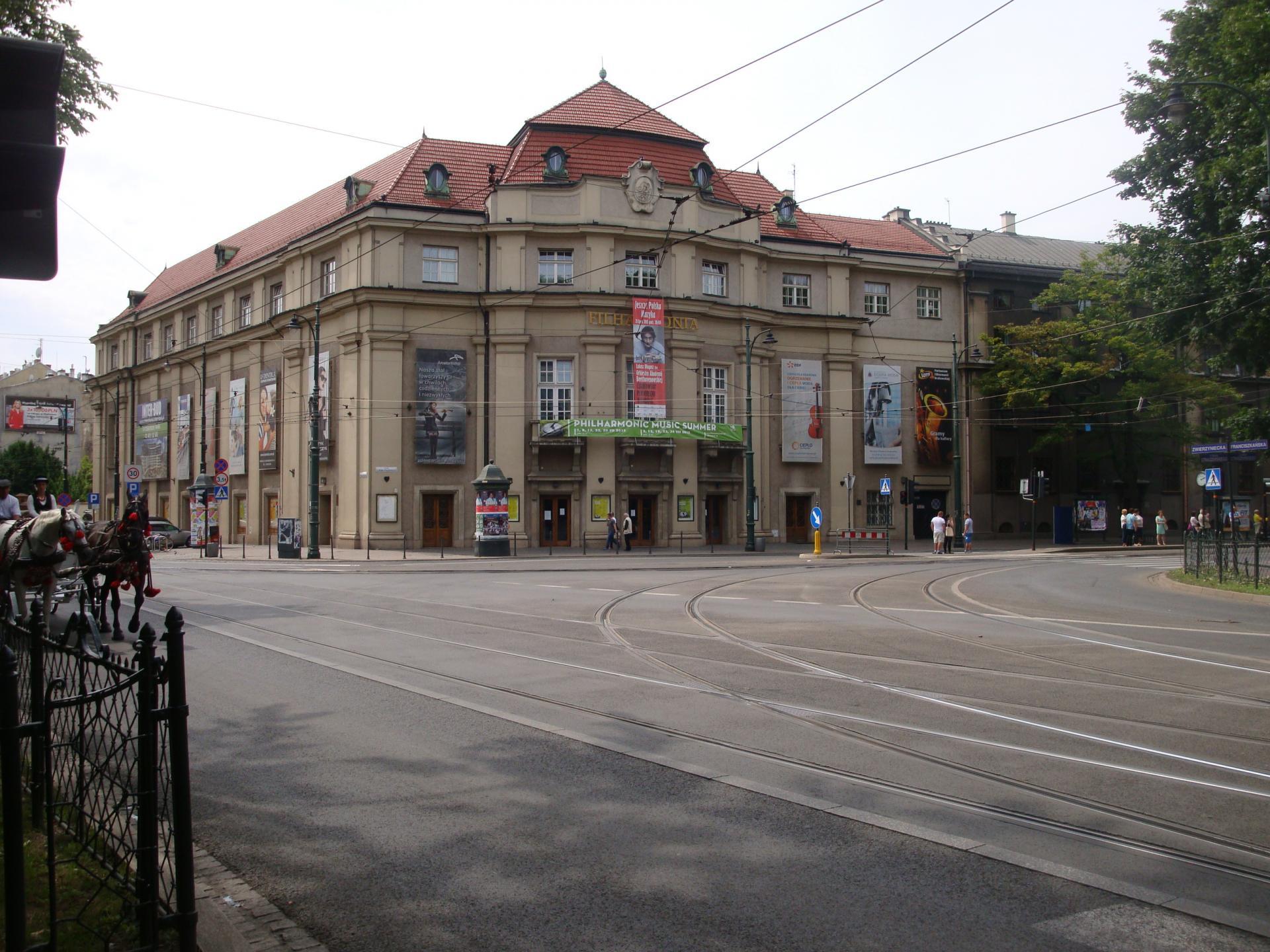 Concert à la Philharmonie de Cracovie (Pologne - Juillet 2015)