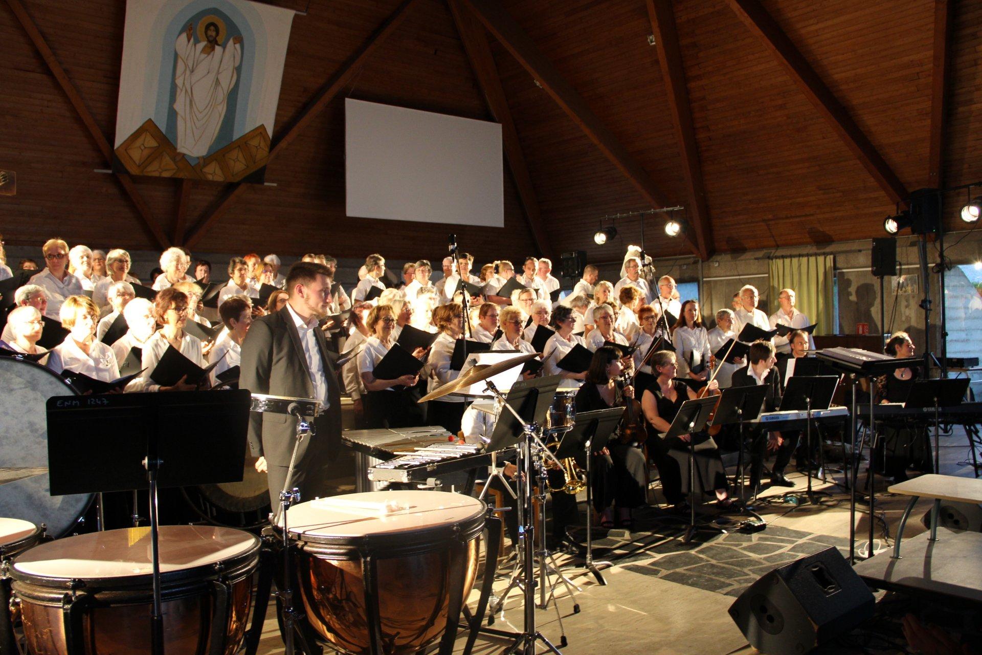 Concert en l'église de St Michel (Evreux - Juin 2019)